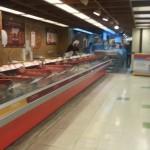 Ausencia de publico en la sección de carnes en los supermercados de Lima luego del comunicado de la OMS es evidente