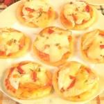 Mini Pizzas de Pollo con pan del día anterior